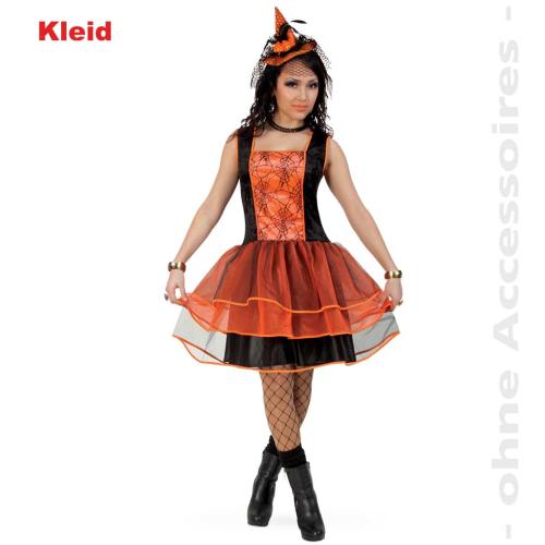 Fasching Hexe Halloween Kostüm Kleid Hexenkostüm Gr. 40, 27