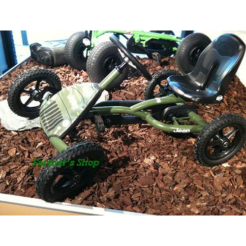 BERG Jeep® Junior Pedal Go Kart Buddy ab 3 Jahre 242134