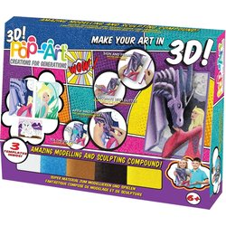 Pop Art 1/2 3D Mystical Dragon 38023
