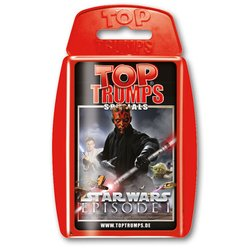 Top Trumps Kartenspiel Star Wars Episode I