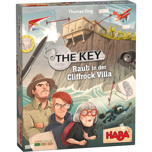 HABA Spiel The Key ? Raub in der Cliffrock Villa