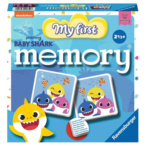 Ravensburger Spiel Baby Shark My first memory®