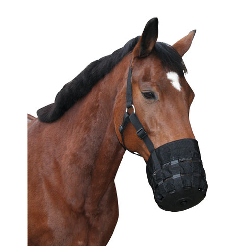 Maulkorb Nylon - Fressbremse Full Warmblut