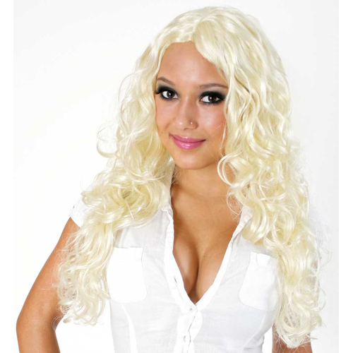 Fasching Karneval Perucke Blond Mit Locken Danila Daniela