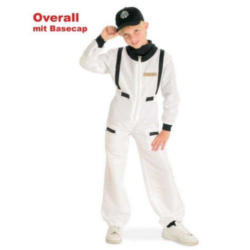 Fasching Karneval Kostum Astronautenanzug Mit Basecap Gr 104 1